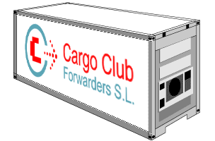 Reefer container Cargo Club Forwarders