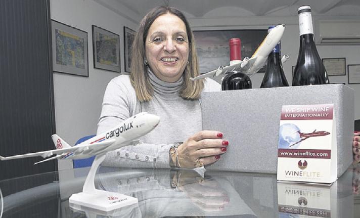 Cargo Club a implanté en Espagne transport international de vin avec livraison à domicile