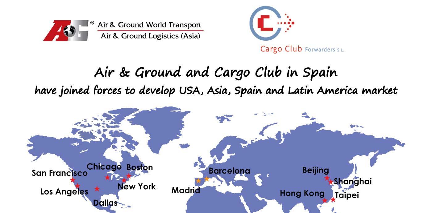 Air & Ground et Cargo Club ont uni leurs forces